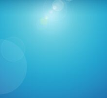 Lens Flare Blue by Joey Kuipers
