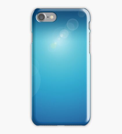 Lens Flare Blue iPhone Case/Skin