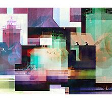 Lighthouse Abstract Photographic Print
