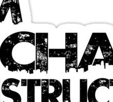 URBAN PACHAN BLACK Sticker