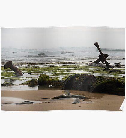 Wreck Beach Poster