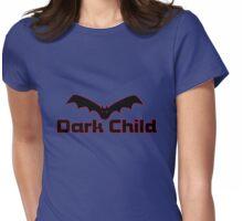 dark child bat Womens Fitted T-Shirt
