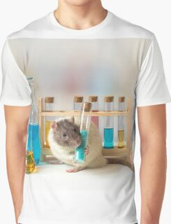 Working at the Laboratory Graphic T-Shirt