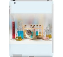 Working at the Laboratory iPad Case/Skin