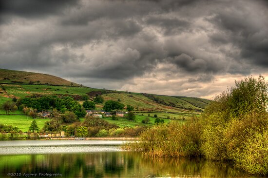 Combs Reservoir by David J Knight
