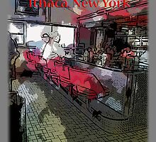 State Diner Ithaca, NY by David Kessler