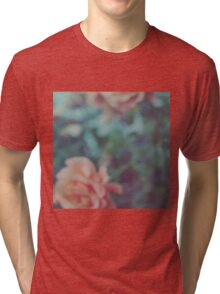Faded Floral Tri-blend T-Shirt