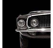 Wild Pony black&white Photographic Print