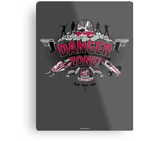 Danger Zone! Metal Print