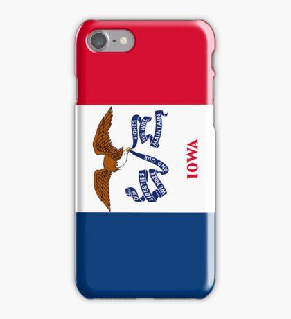 Smartphone Case - State Flag of Iowa - Vertical iPhone Case/Skin