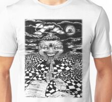 End of the Road in Pen Unisex T-Shirt
