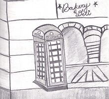 British Telephone Booth by Melissa Vijay Bharwani