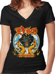 DIO Women's Fitted V-Neck T-Shirt
