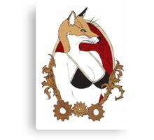 Industrielle Designs- Fox Canvas Print