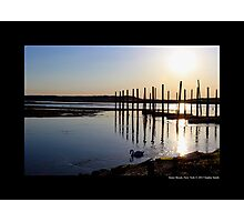 Porpoise Channel Afternoon - Stony Brook, New York Photographic Print
