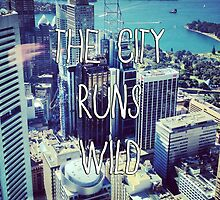 The City Runs Wild by grungeandglam