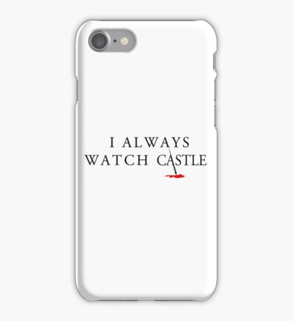 Always Castle iPhone Case/Skin
