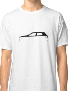 Silhouette Volkswagen VW Golf Mk4 Classic T-Shirt