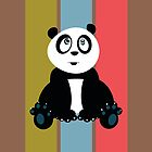 Panda Retro 2 by Adamzworld