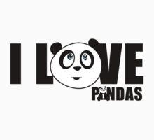 I love Pandas by Adamzworld