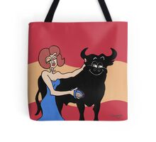Wildago's Pearl and the Osborne Bull Tote Bag