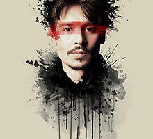 Johnny Depp by Brigitta Frisch