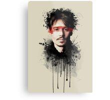 Johnny Depp Metal Print