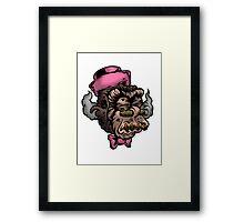Mr Shrunken Teeny Framed Print