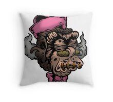 Mr Shrunken Teeny Throw Pillow