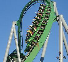 The Incredible Hulk at Universal Studios Florida by RandyDyer
