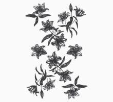 black flowers by KatyaZorin