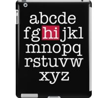 The Alphabet iPad Case/Skin