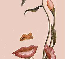 flower woman by Ümit ÖZKANLI