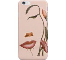 flower woman iPhone Case/Skin