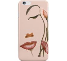 flower woman iPhone Case/Skin