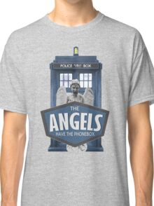 Inspired by The Doctor - Weeping Angels - The Angels Have the Phonebox - Don't Blink Classic T-Shirt