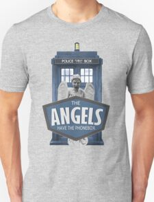 Inspired by The Doctor - Weeping Angels - The Angels Have the Phonebox - Don't Blink T-Shirt