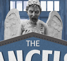 Inspired by The Doctor - Weeping Angels - The Angels Have the Phonebox - Don't Blink Sticker