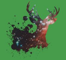 Space Stag One Piece - Short Sleeve