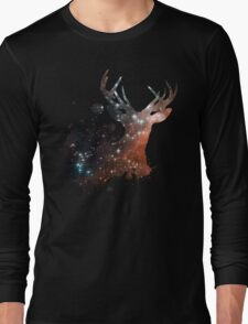 Space Stag Long Sleeve T-Shirt