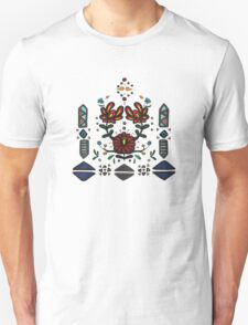 tribal flowers T-Shirt