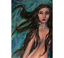 Avalon- Mermaid painting Photographic Print