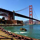 San Francisco, CA - Golden Gate Bridge by Mike Oliver
