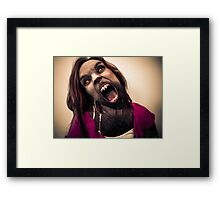 That Time of the Month Framed Print