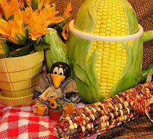 Corn Pot by WildestArt