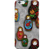 colorful matryoshka iPhone Case/Skin