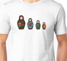 colorful matryoshka Unisex T-Shirt