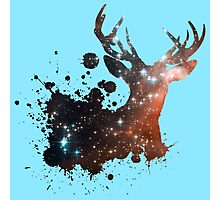 Space Stag Photographic Print