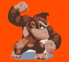 Minimalist Donkey Kong from Super Smash Bros. Brawl Kids Clothes