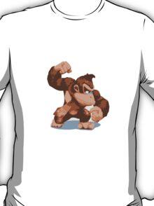 Minimalist Donkey Kong from Super Smash Bros. Brawl T-Shirt